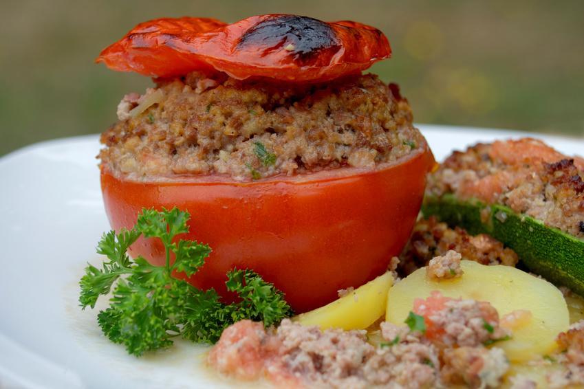 Notre recette des tomates farcies