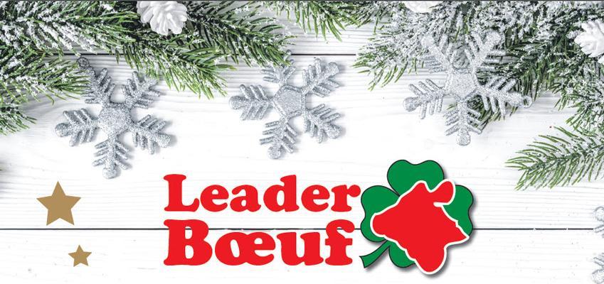 Leader-Boeuf Fêtes de fin d'année
